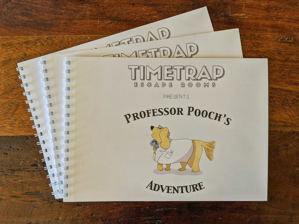 Pooch Puzzle Book