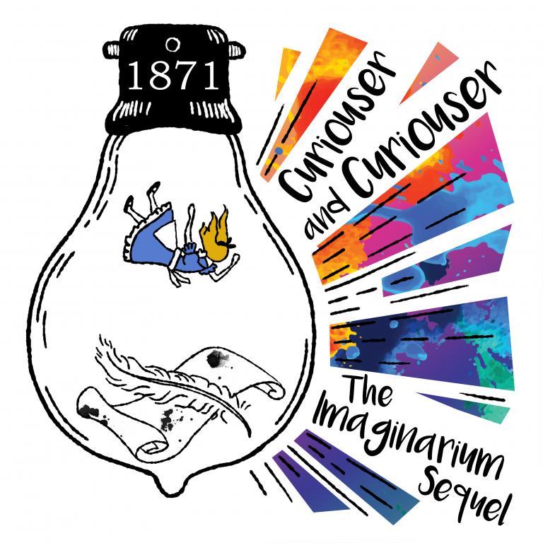 Curiouser and Curiouser Logo